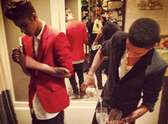 Justin Bieber, Lil Twist, Twit Pic