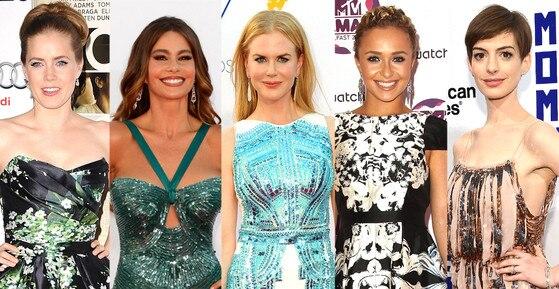 Amy Adams, Anne Hathaway, Nicole Kidman, Hayden Panettiere, Sofia Vergara