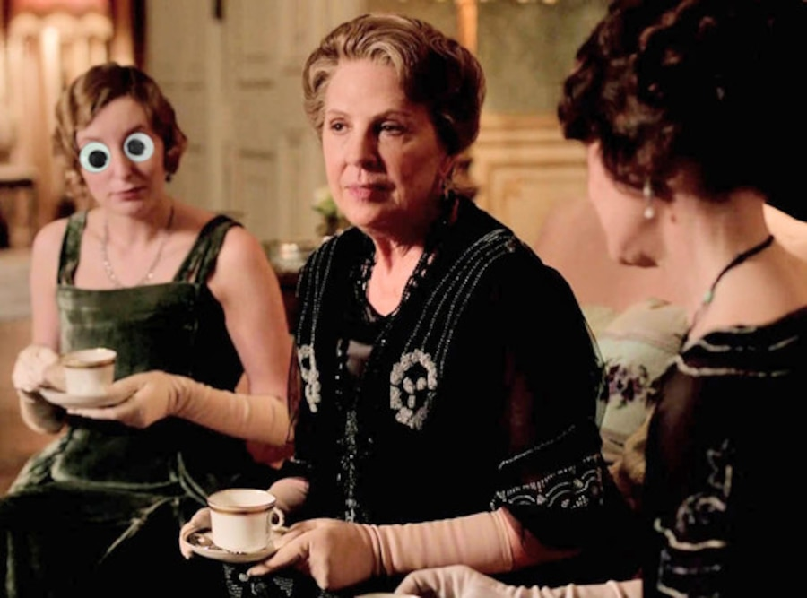 Downton Abbey, Edith Googly Eyes