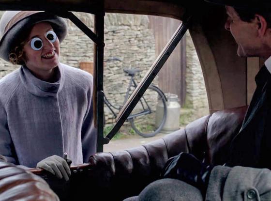 Downton Abbey, Edith Googly Eyes
