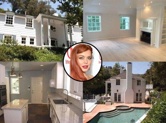 Lindsay Lohan, Beverly Hills Home