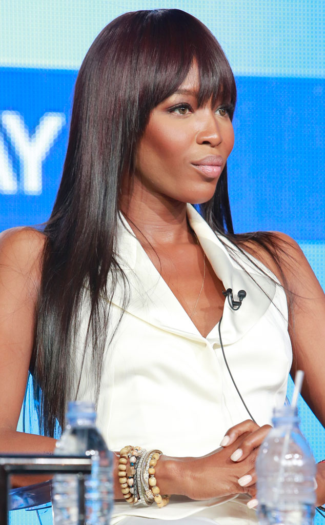 Naomi Campbell, The Face panel