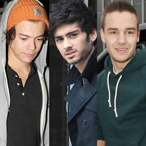 Harry Styles, Zayne Malik, Liam Payne