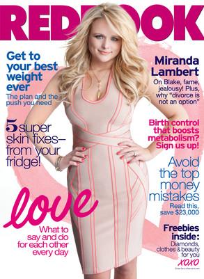 Miranda Lambert, Redbook Magazine