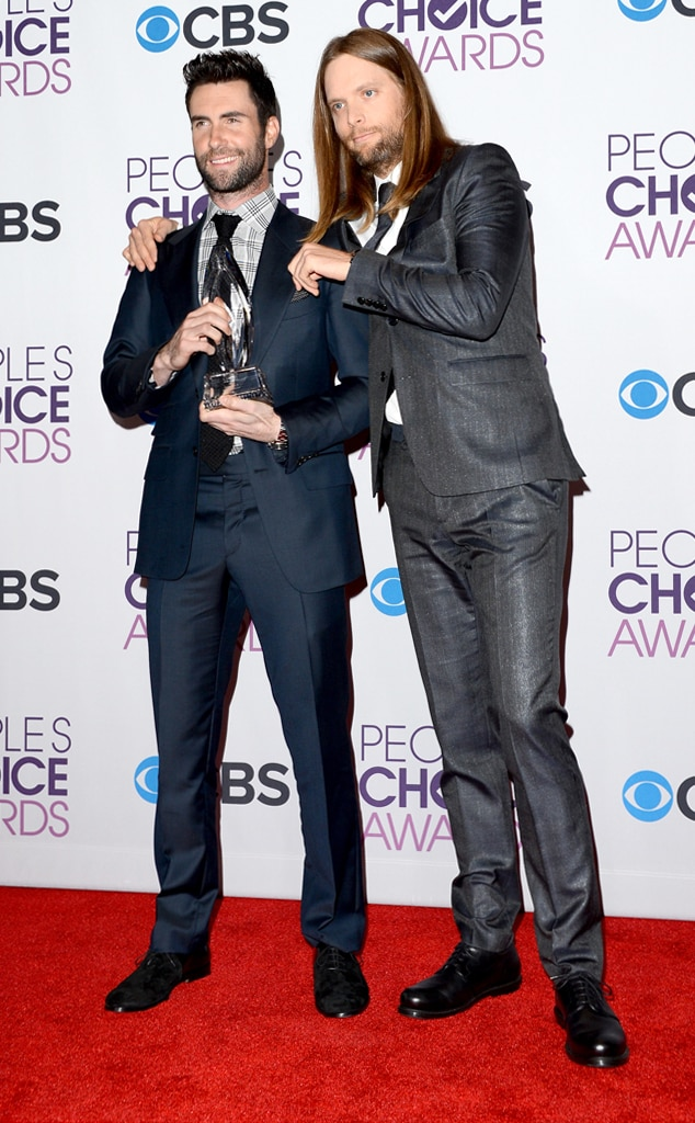 Adam Levine, James Valentine, Maroon 5, People's Choice Awards