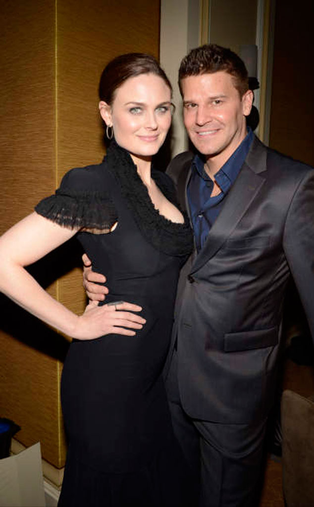 Emily Deschanel & David Boreanaz, Bones from 2013 Winter ...