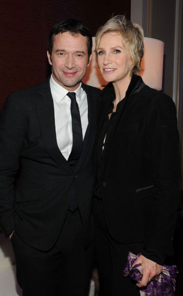 Jane Lynch, James Purevoy