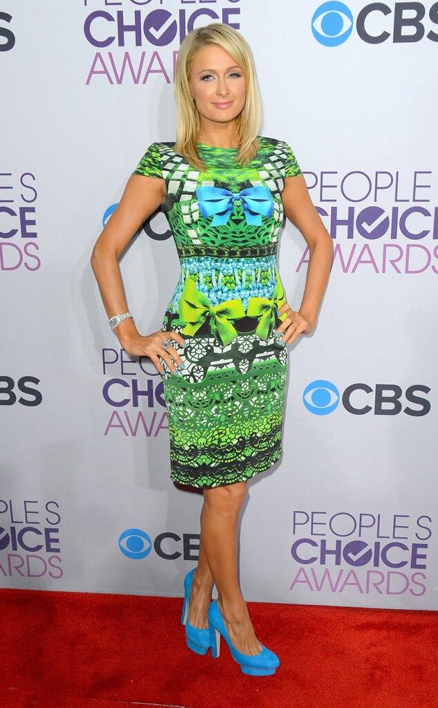 Paris Hilton, People's Choice Awards