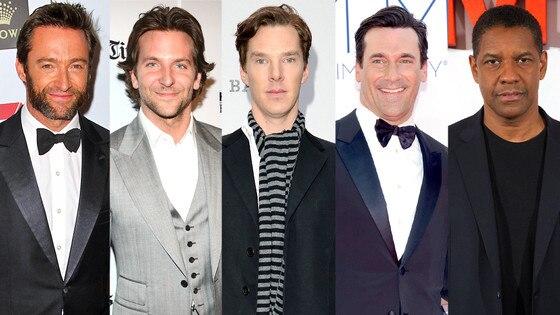Bradley Cooper, Hugh Jackman, Jon Hamm, Benedict Cumberbatch, Denzel Washington