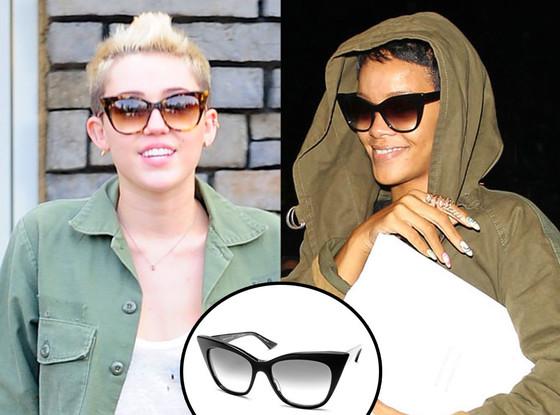 Miley Cyrus, Rihanna, Sunglasses