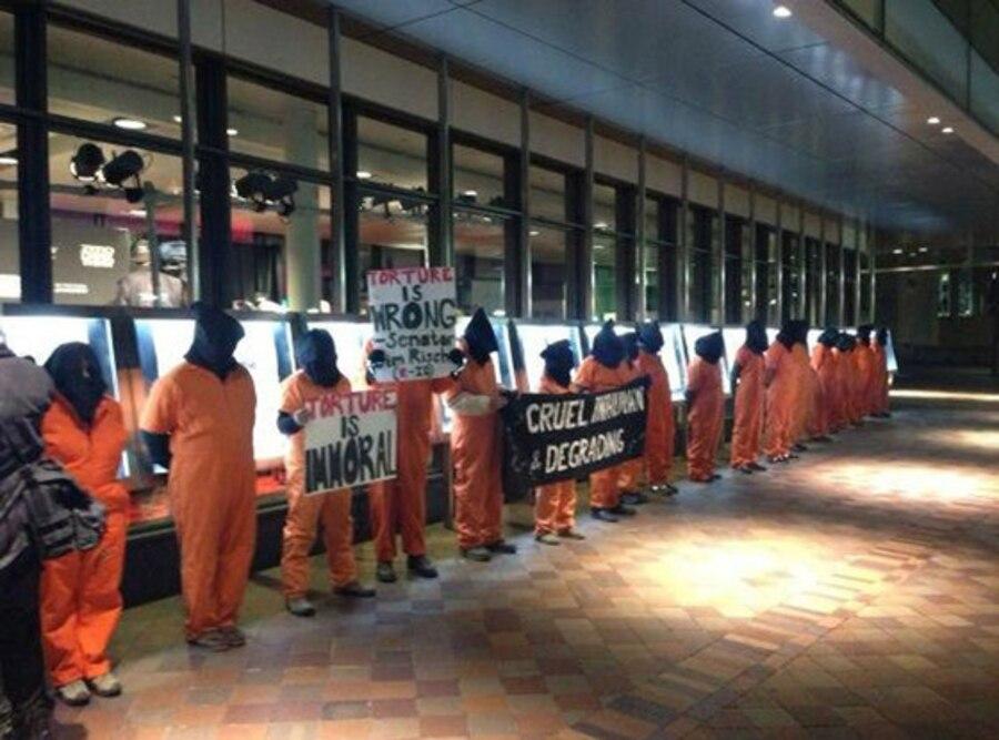 Zero Dark Thirty Protesters