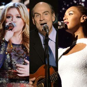 Kelly Clarkson, James Taylor, Beyonce