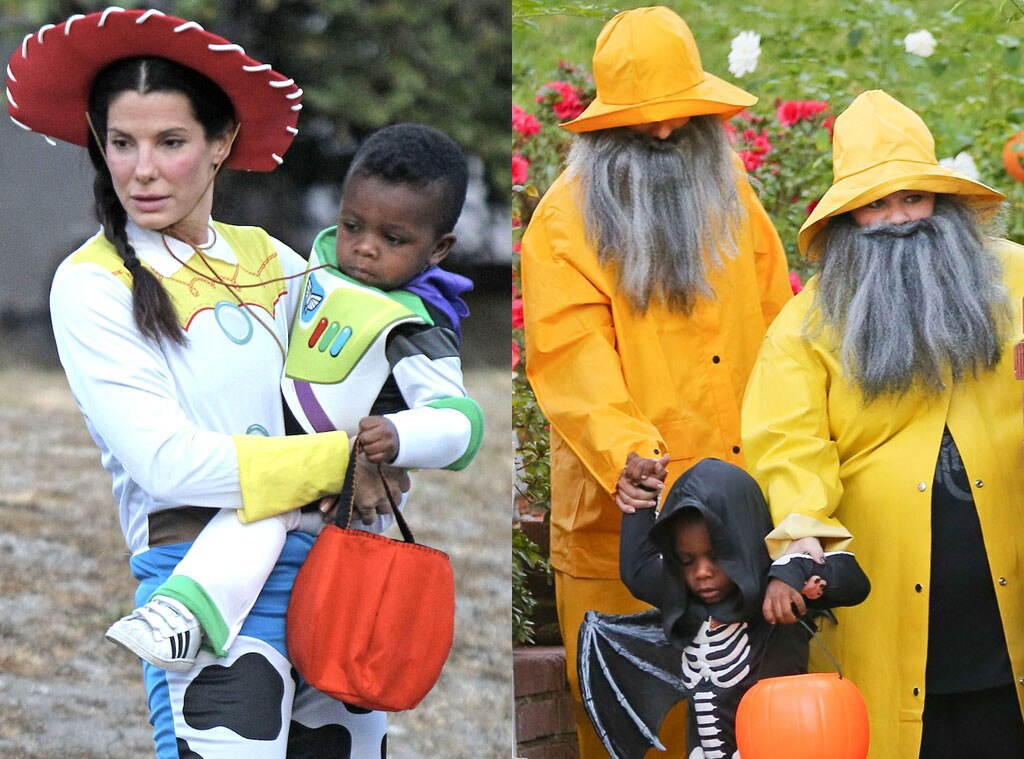 Sandra Bullock, Louis Bardo, Halloween