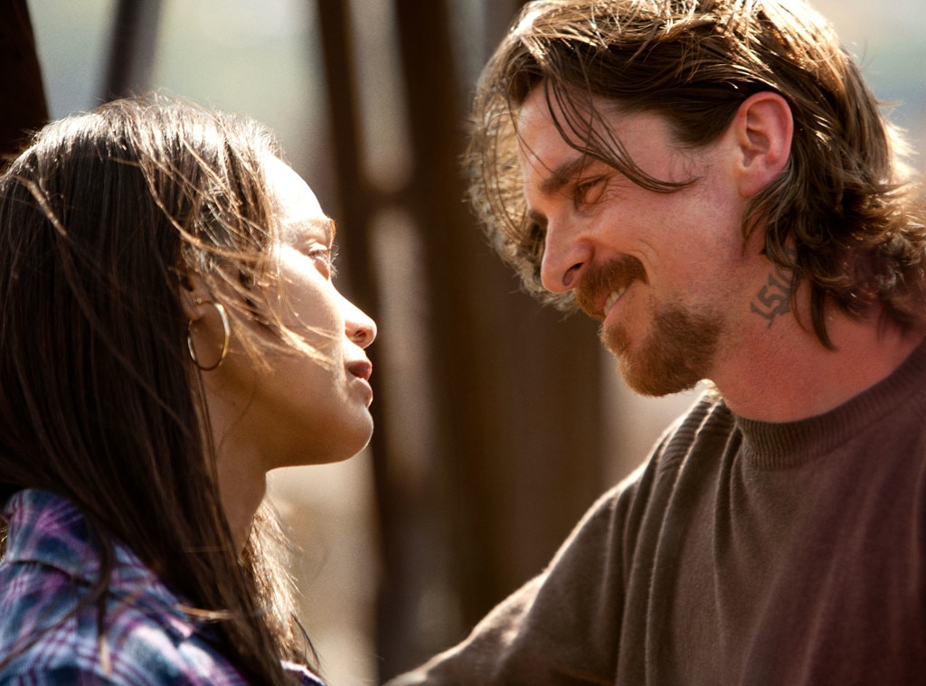 Zoe Saldana, Christian Bale, Out of the Furnace, Holiday Movie Guide