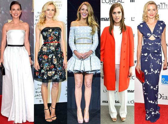 Natalie Portman, Diane Kruger, Blake Lively, Allison Williams, Naomi Watts