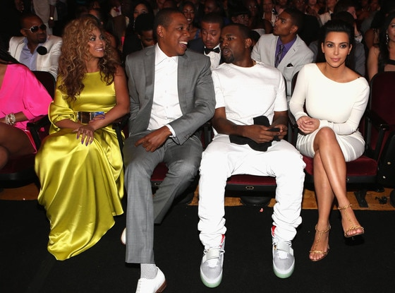 BET Awards, Beyonce, Jay-Z, Kim Kardashian, Kanye West