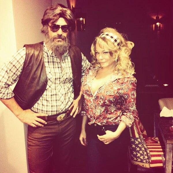 LeAnn Rimes, Eddie Cibrian, Halloween