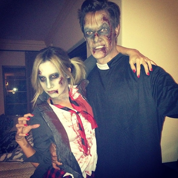 Ashley Tisdale, Instagram, Halloween