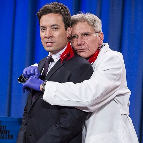 Instagram, Jimmy Fallon, Harrison Ford