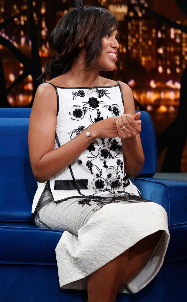 Kerry Washington, Jimmy Fallon