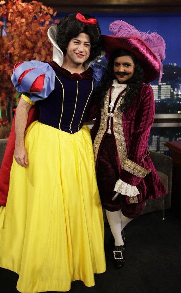 Mindy Kaling, Jimmy Kimmel