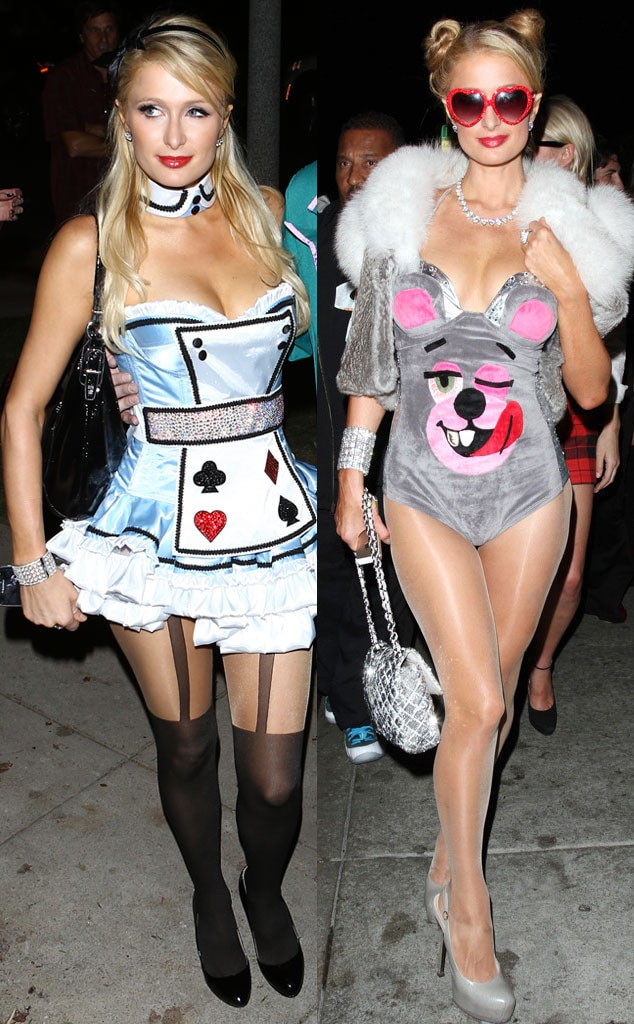 Paris Hilton, Halloween