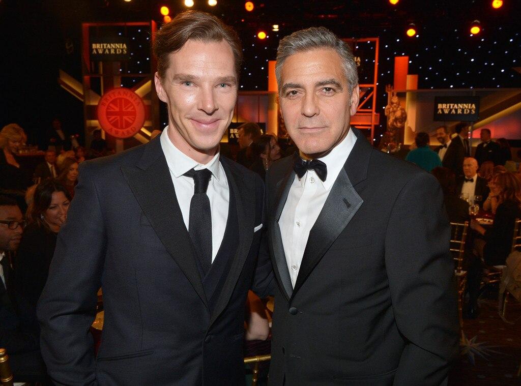 Benedict Cumberbatch, George Clooney
