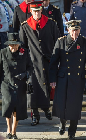 Queen Elizabeth II, Prince Harry, Prince Philip