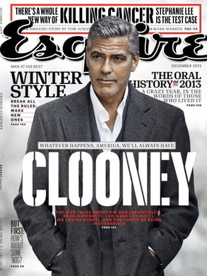 George Clooney, ESQUIRE