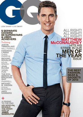GQ, Men of the Year, Matthew McConaughey