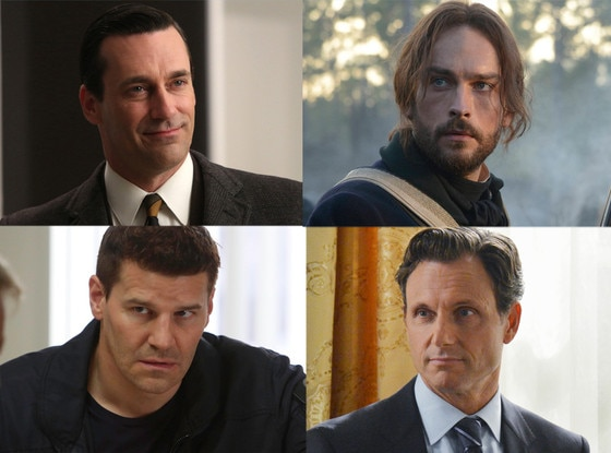 Tom Mison, Sleepy Hollow, David Boreanaz, Bones, Jon Hamm, Mad Men, Tony Goldwyn, Scandal