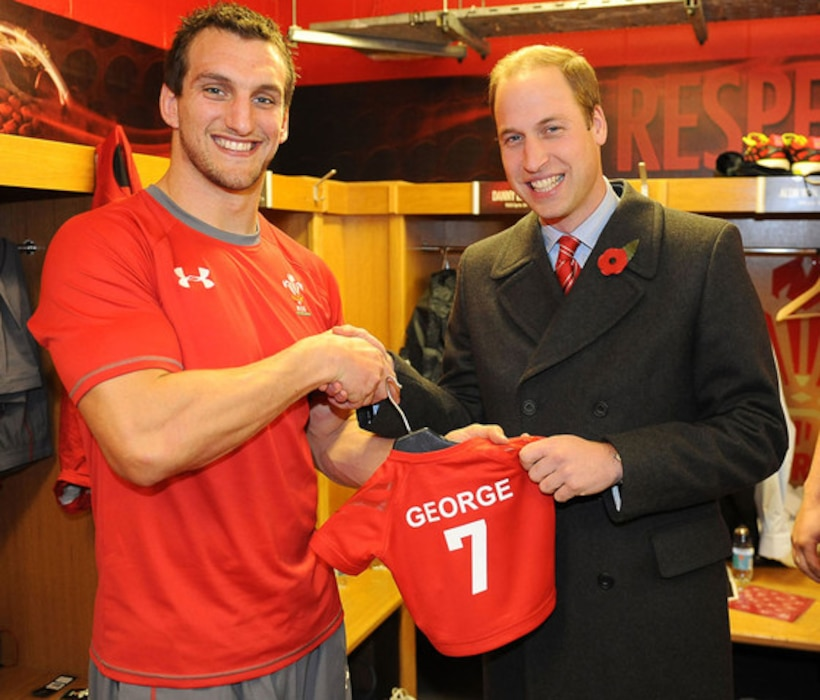 Prince William, Sam Warburton