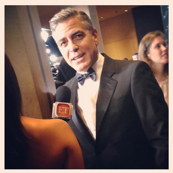 George Clooney, BAFTA, Instagram