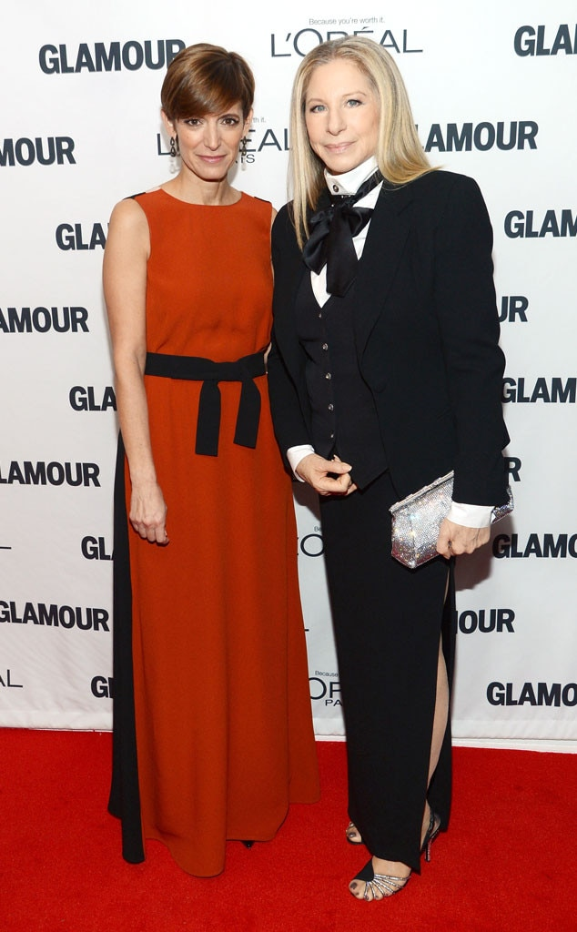 Cindi Leive, Barbra Streisand, Glamour Awards