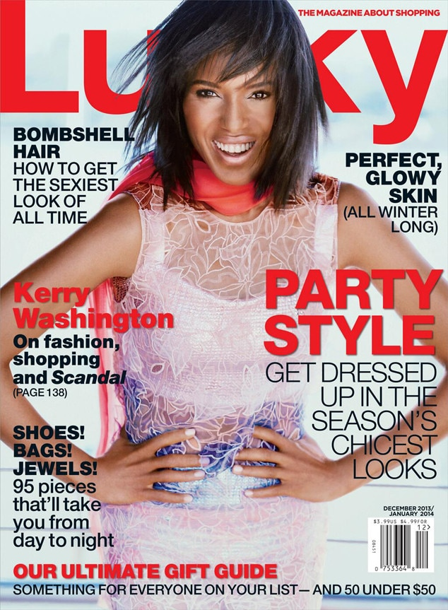 Kerry Washington, Lucky Magazine