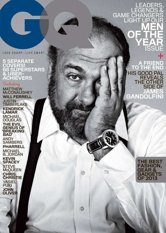 GQ, Men of the Year, James Gandolfini