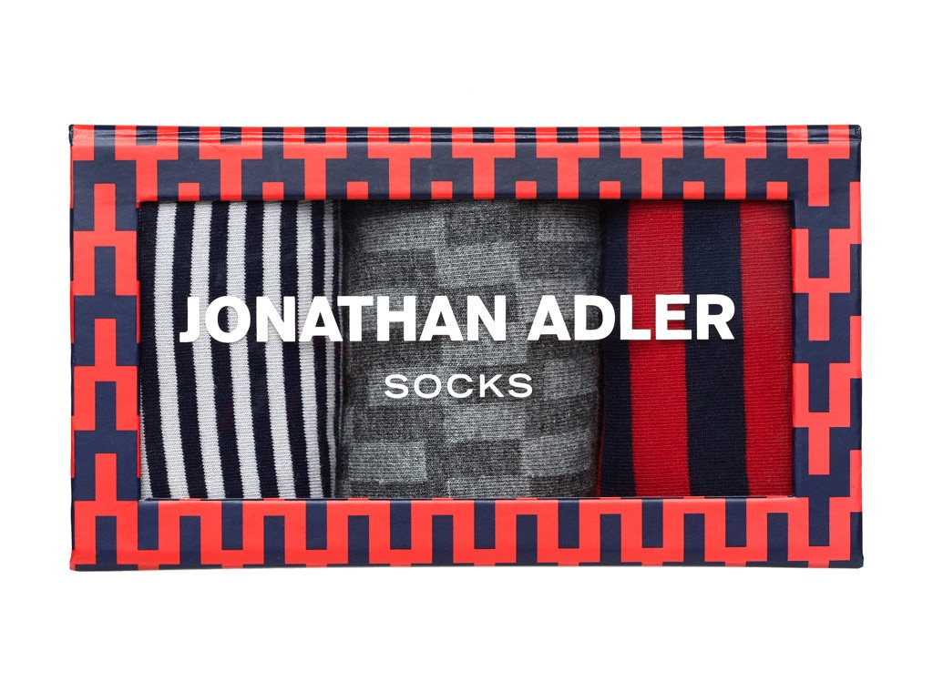 Guys Gift Guide, Jonathan Adler Boxed Sock Set