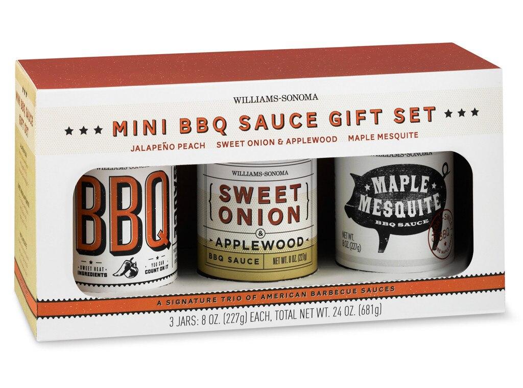 Guys Gift Guide, Williams-Sonoma Mini BBQ Sauce Set