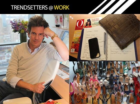 Trendsetters, O Magazine, Oprah, Adam Glassman