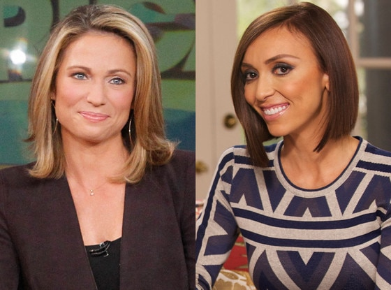 Amy Robach, Giuliana Rancic