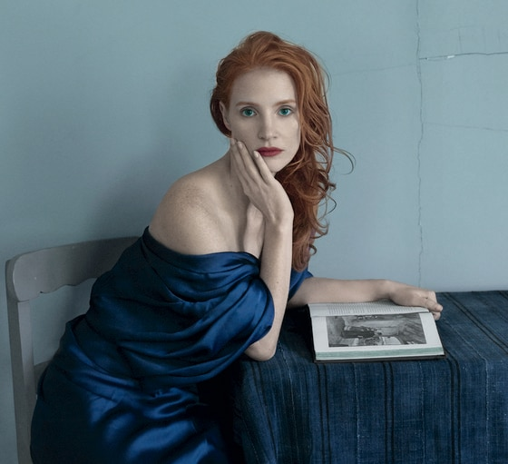 Jessica Chastain, Vogue