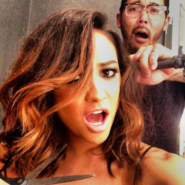 Shay Mitchell Ditches Her Signature Long Hair for Shoulder ...