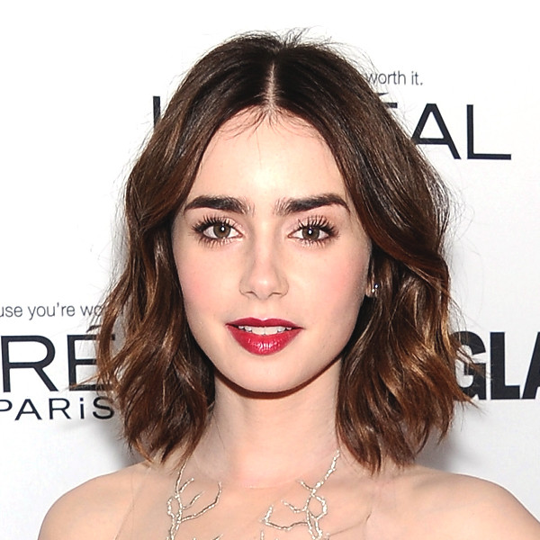 Lily Collins Loves Body Art, Thinks Waxing Hurts More Than ...