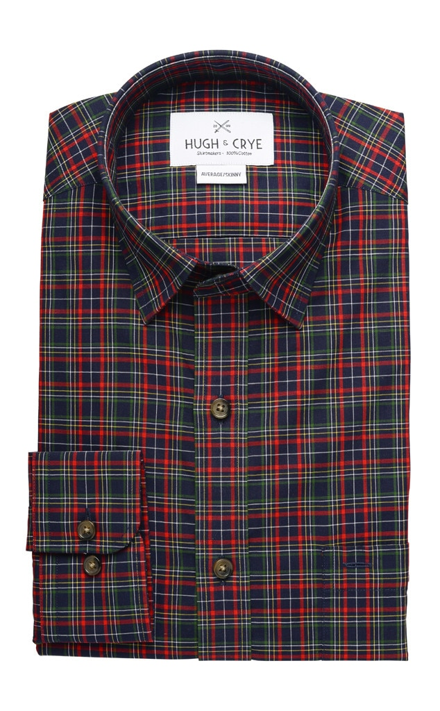 Guys Gift Guide, Hugh & Crye Plaid Shirt
