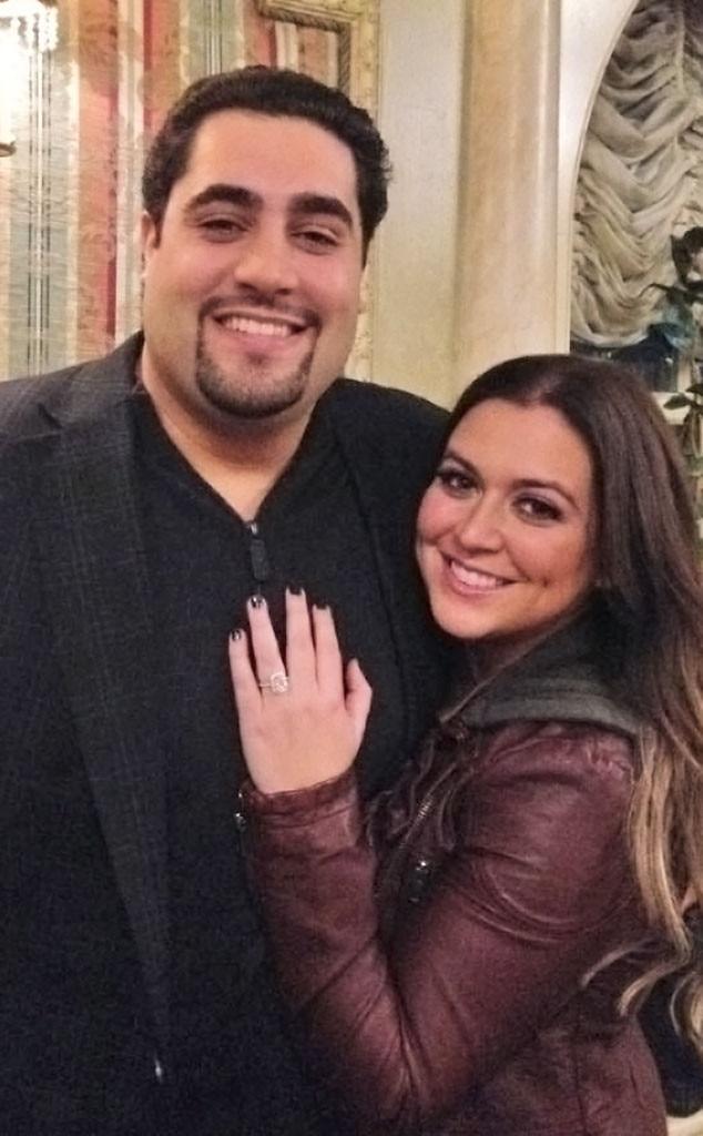 Lauren Manzo, Engagement Ring