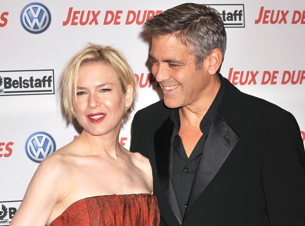 Renee Zellweger, George Clooney