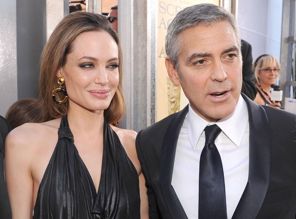 Angelina Jolie, George Clooney