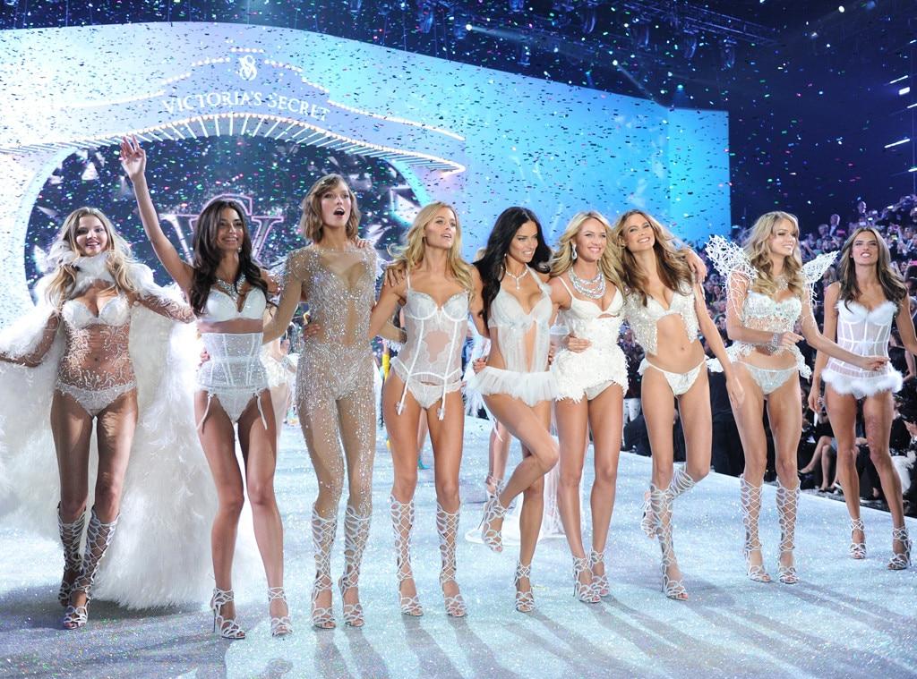 Lily Aldrige, Karlie Kloss, Adriana Lima, Candice Swanepoel, Bahati Prinsloo, Alessandra Ambrosio, Victoria's Secret
