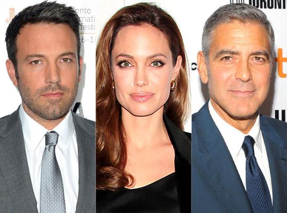 George Clooney, Angelina Jolie, Ben Affleck