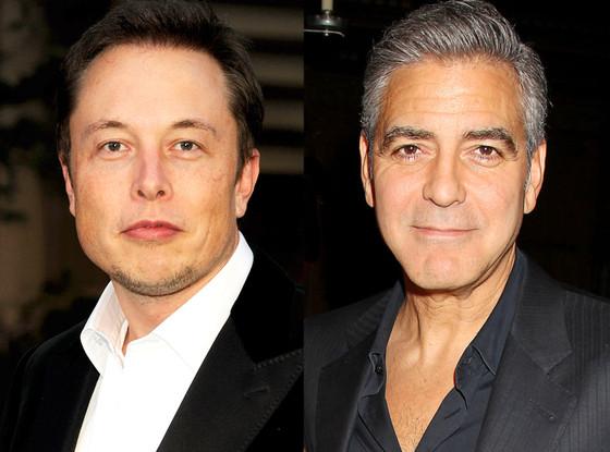 Elon Musk, George Clooney